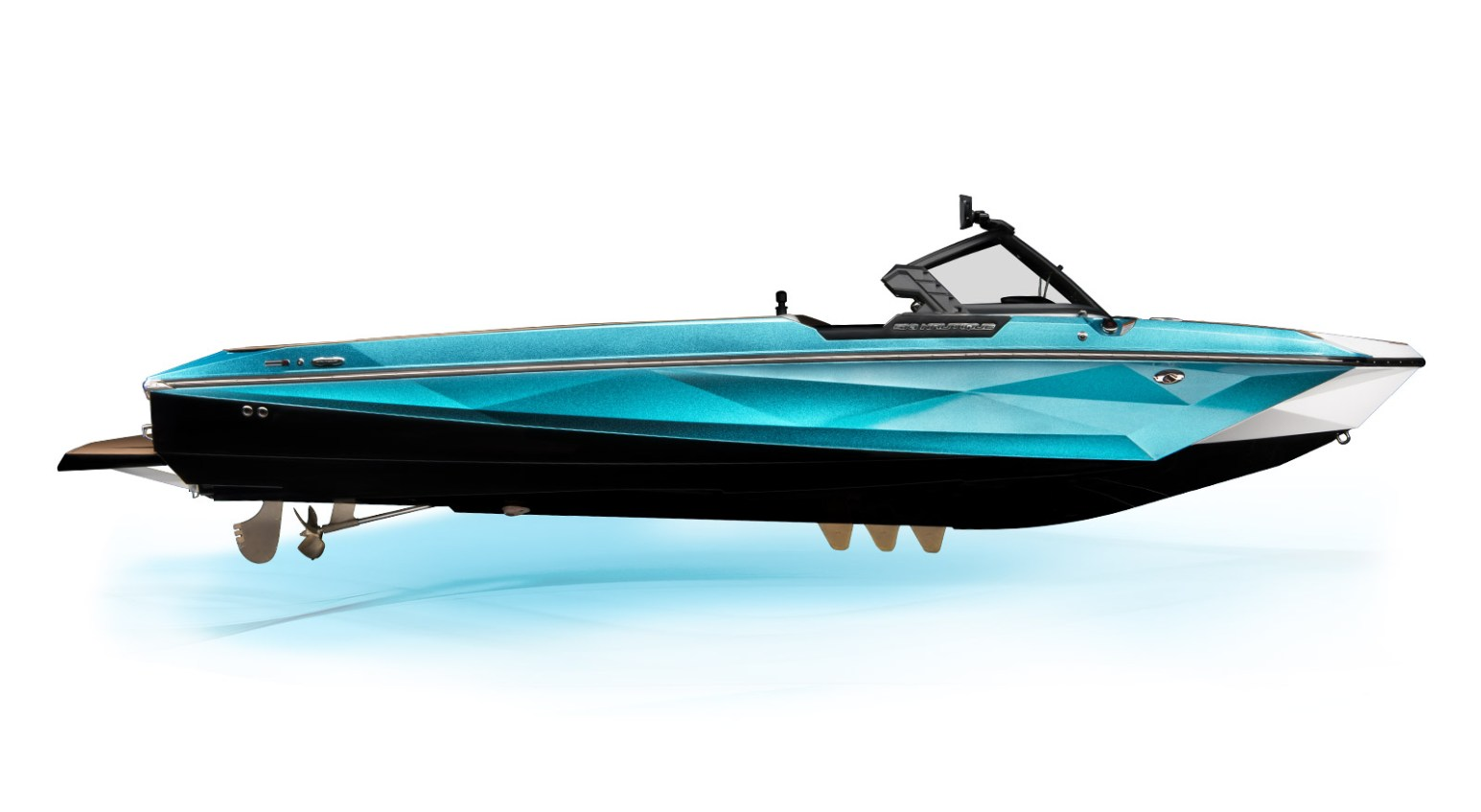 exterior profile right ski